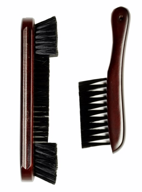 "9"" Nylon  Pool Table brush and Rail Brush Billiards Mahogany"